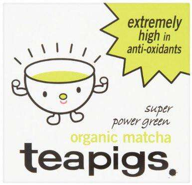 Tea Pigs Organic Matcha Super Power Green Tea 30 G