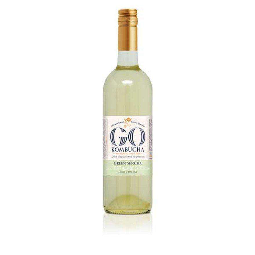 GO! Kombucha Green Sencha 750ml