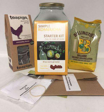 Kombucha Christmas Gift Kit Basic