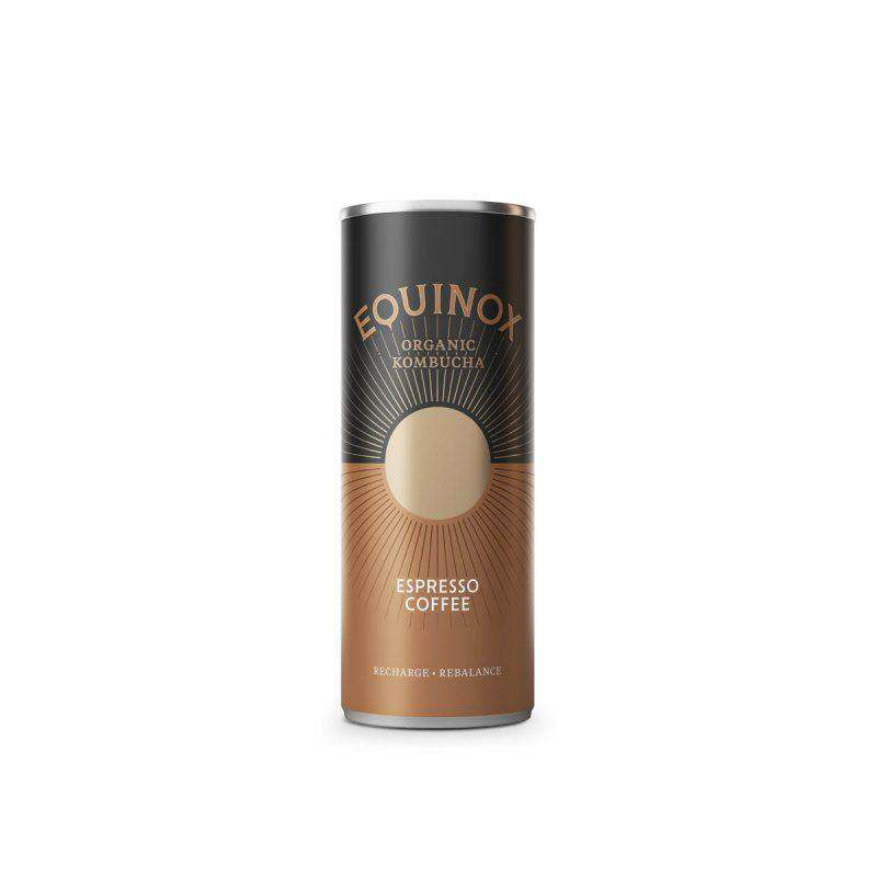 Equinox Kombucha Expresso Coffee Kombucha (250ml) Can