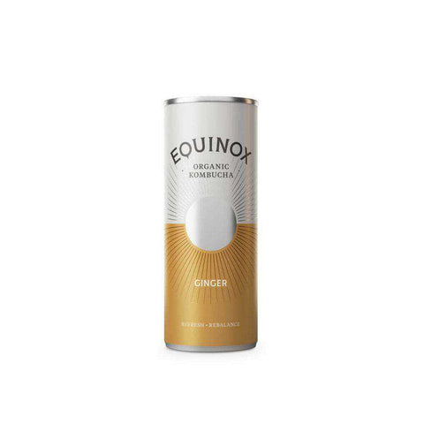 Equinox Kombucha Ginger (250 ml Can)