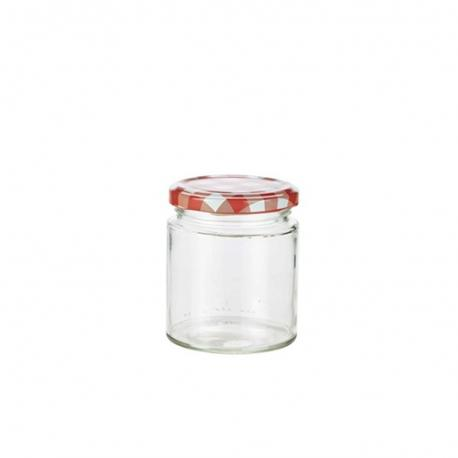 Pack of 6 Glass Screw Top Jars (106ml)