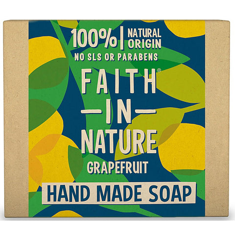 Faith In Nature Grapefruit handmade soap 100g