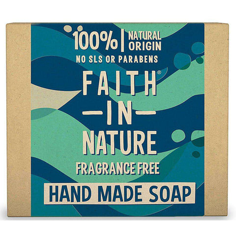 Faith in nature frangrance free soap