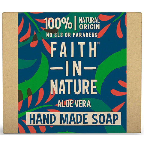 faith in nature Aleo vera soap-Happykombucha
