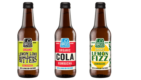 Lo Bros Kombucha Living Soda – Mixed flavours