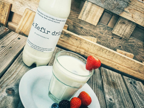 Ready made Organic Milk kefir drink