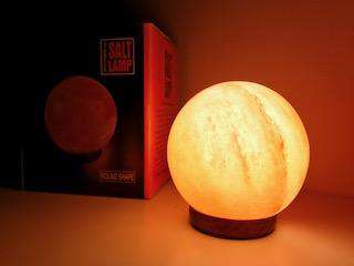 Ball Shape, Himalayan salt lamp