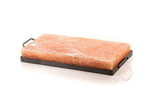 Himalayan Salt Cooking Plate/Slab with steel holder
