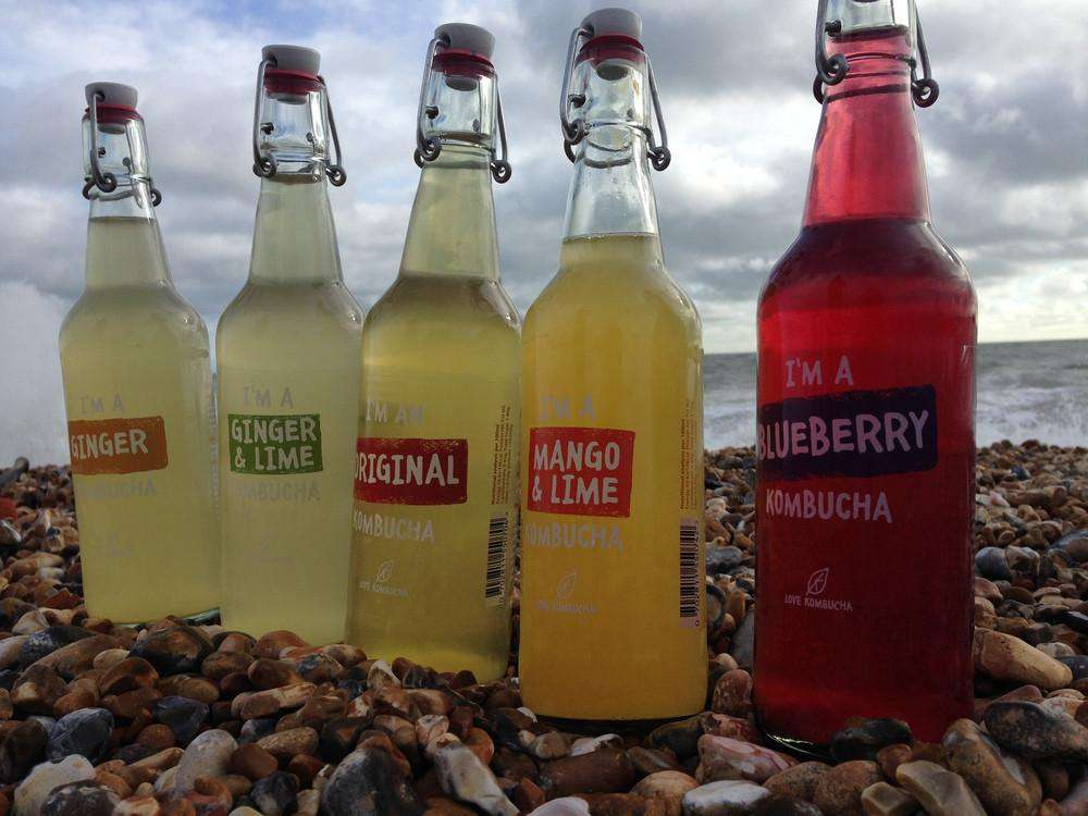 Mixed Flavours pack of Kombucha 500ml