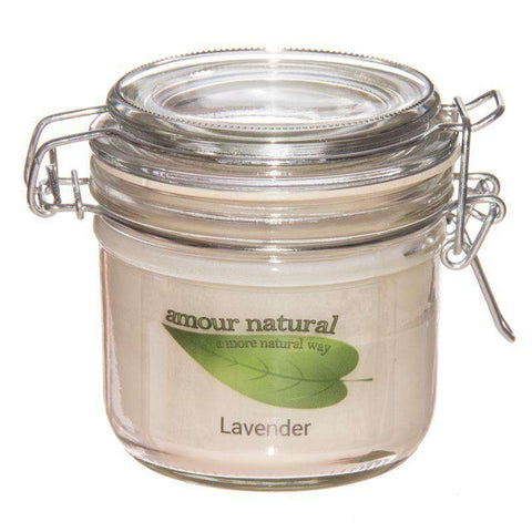 Lavender Candle, 200ml Clip Jar candle