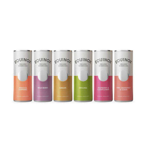 Equinox Kombucha Multi pack 250Ml Cans