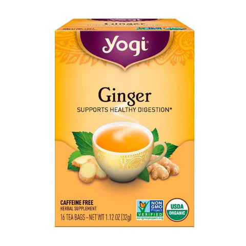 Yogi Tea Organic Ginger Tea (17 tea bags)