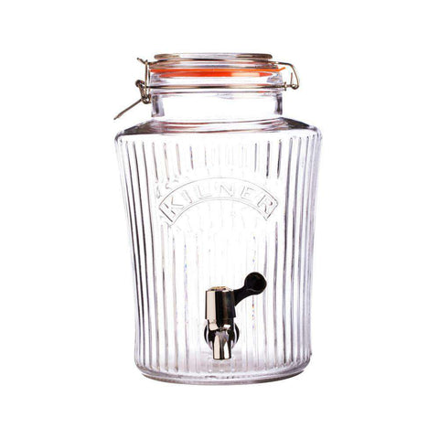 5 Litre Glass Continuous Brewing Vintage style jar by Kilner