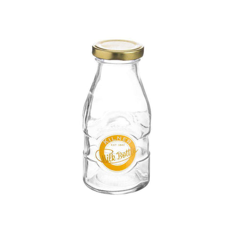 Glass Milk Bottles by kilner 1/3 Pint 189ml