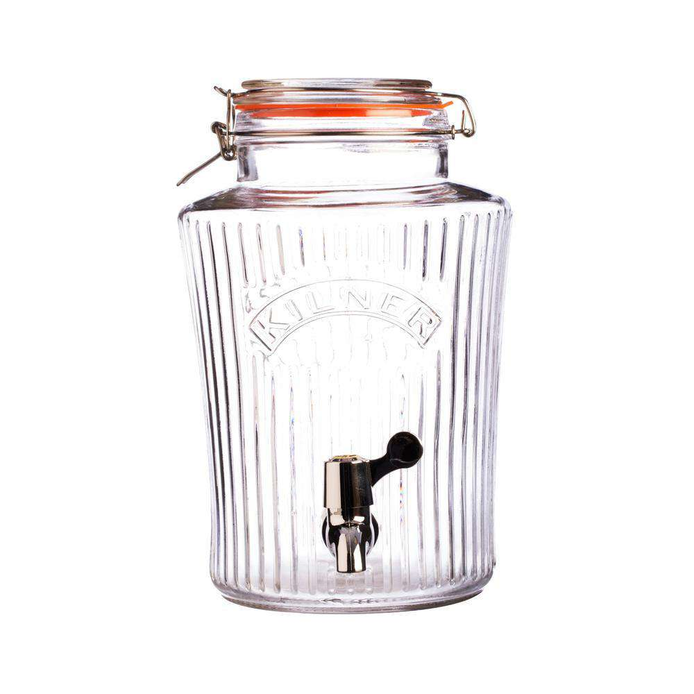 8 Litre Glass Continuous Vintage style Brewing jar by Kilner