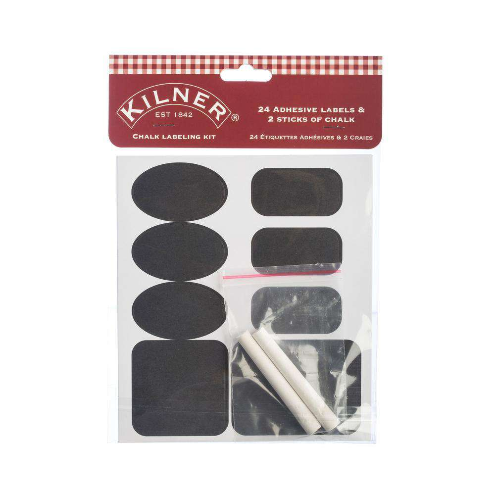26 Piece Chalk Labelling Set