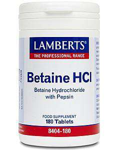Betaine HCl 324mg /Pepsin 5mg