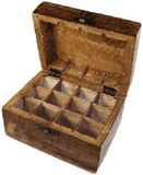 Antique Aromatherapy/fragrance oil box large
