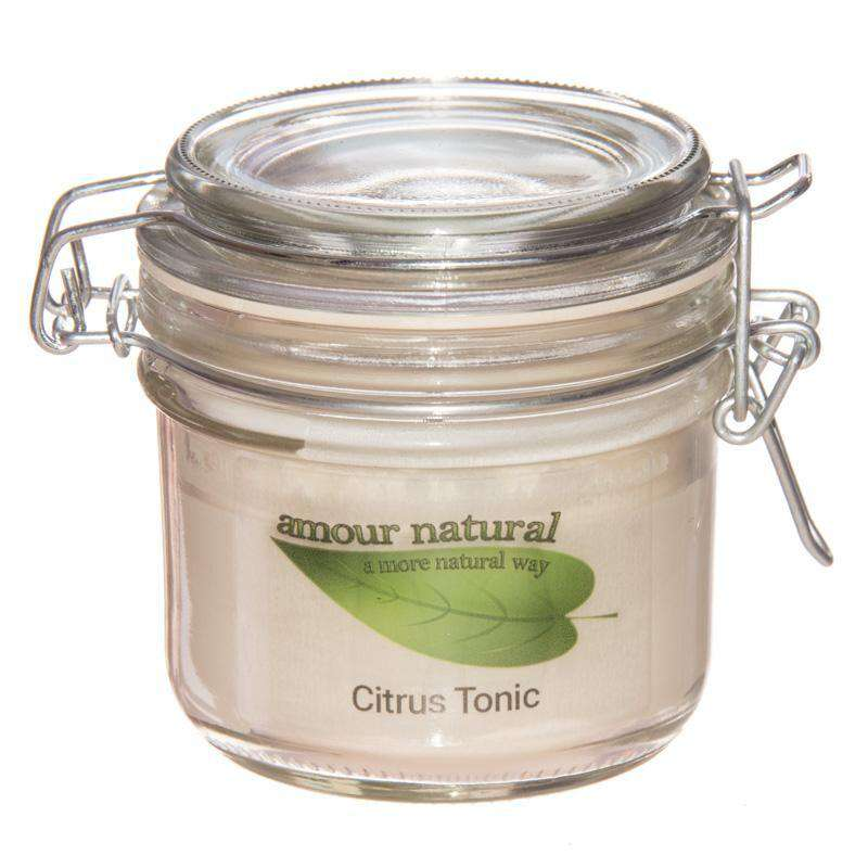 Citrus Tonic Candle, 200ml Clip Jar