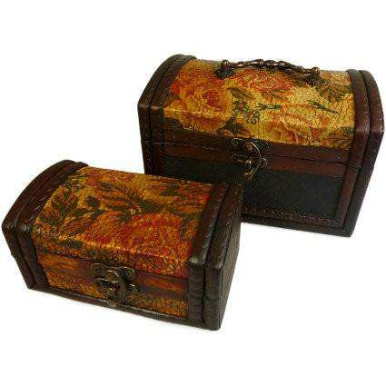 gold colonial boxes