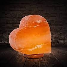 Heart Shape salt lamp 3Kg lamp
