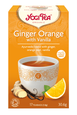 Yogi Organic Ginger, Orange and Vanilla