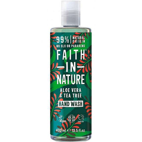 Faith in Nature tea tree handwash