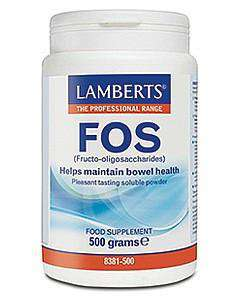 FOS (Fructo-oigosaccharides) Formerly Eliminex; A natural soluble fibre that helps maintain bowel health