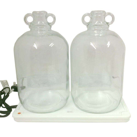 TE2 Heat tray to hold 2x Glass jars