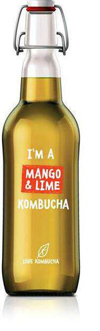 mango and lime love kombucha