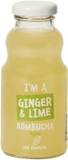 I'm a ginger and lime organic Kombucha