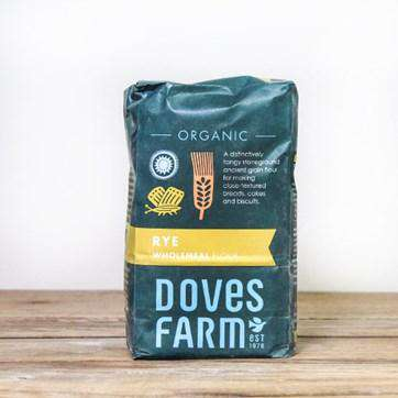 Doves Farm Organic Rye Wholemeal Flour