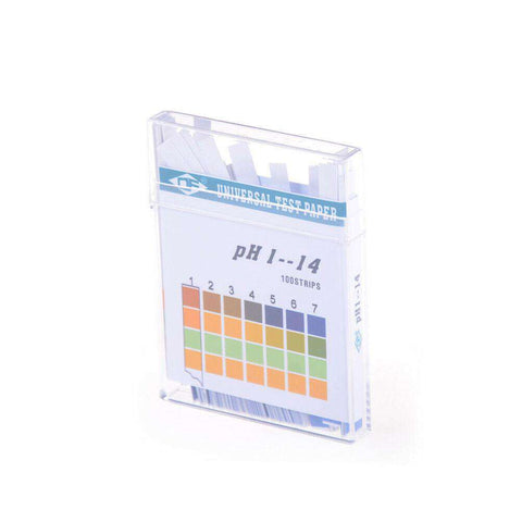 pH Indicator Strips Universal (100 Strips)