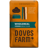 Doves Farm Organic Wholemeal Strong Bread Flour 1.5 kg