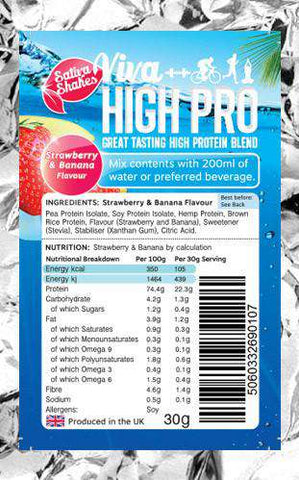 Viva High Pro 30g single taster pouch
