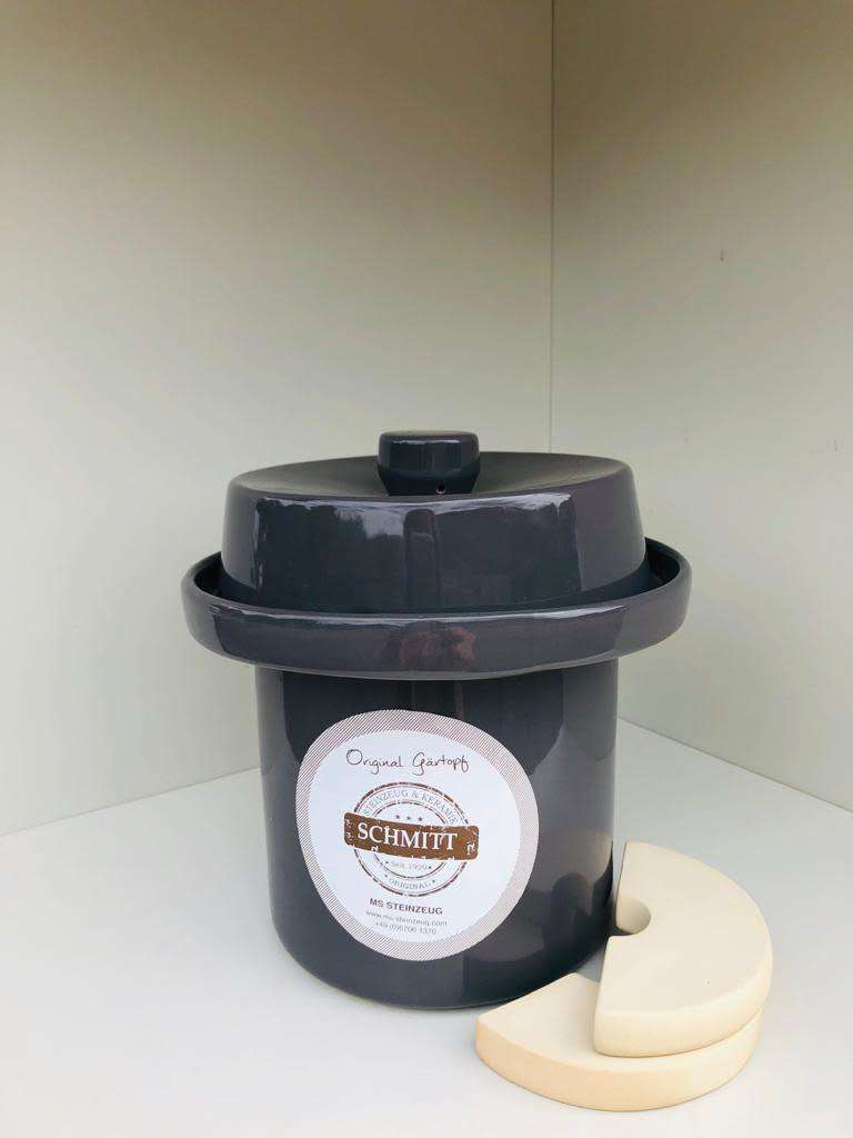 Vegetable Fermentation crock/Sauerkraut pot 3 Lt.