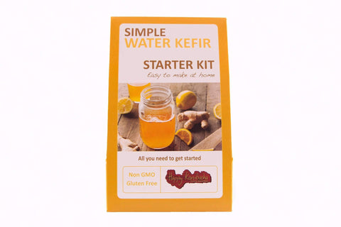 Dehydrated Organic Water kefir grains gift kit