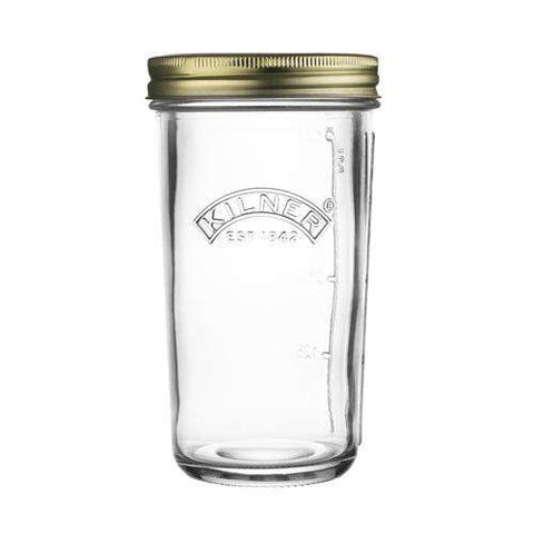 Wide Mouthed 0.5L Sprouting Kilner jar