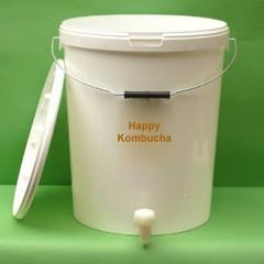 25l Foodgrade Plastic Tub For Kombucha Brewing