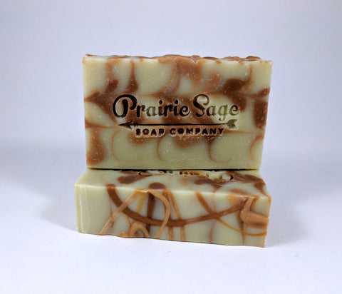 Lemongrass, Eucalyptus, Cedarwood & Rosemary Scented Soap