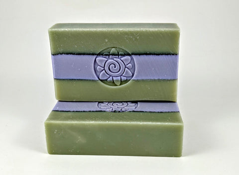 Lavender Rosemary Lemongrass Scented Soap -  Goat Milk Soap