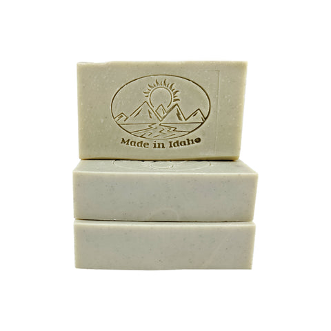 Spearmint Scented Handmade Soap