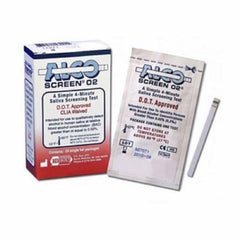 Saliva Blood Alcohol Test - AlcoScreen .02 DOT-approved