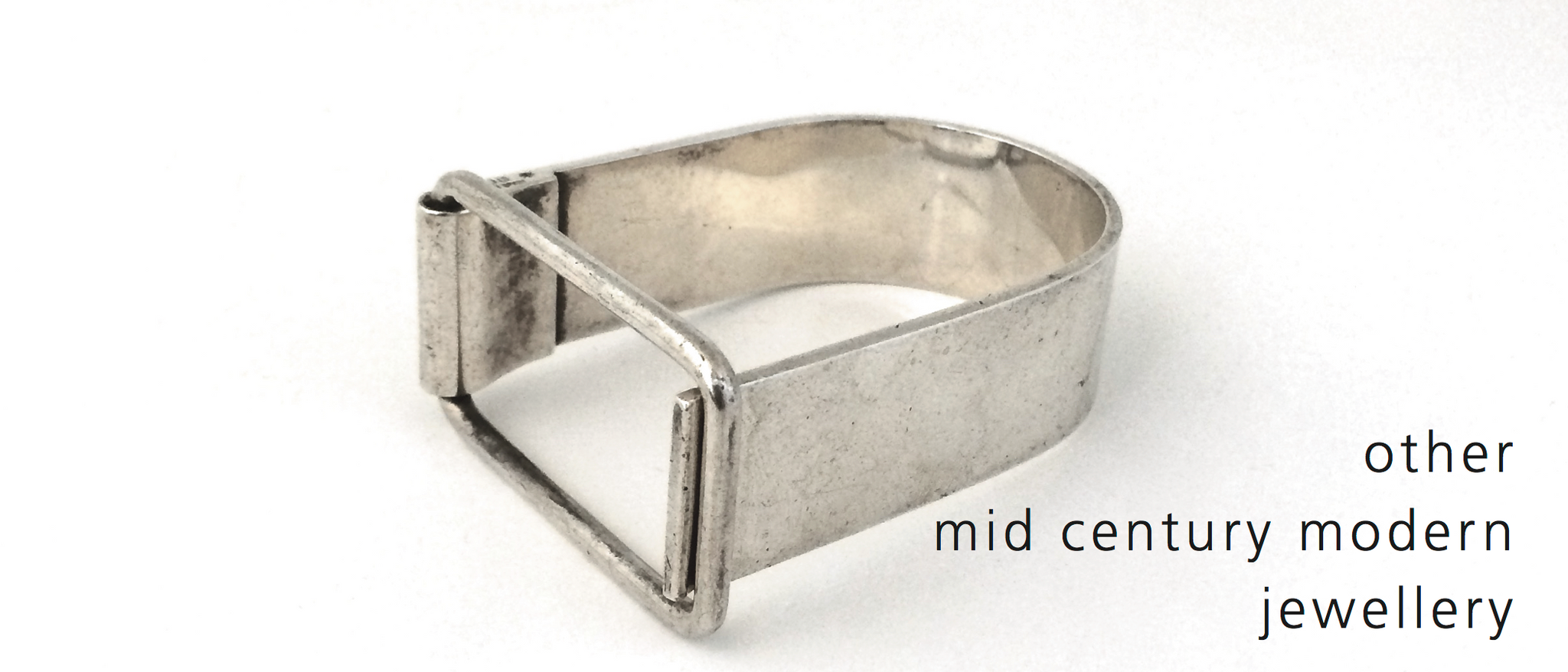 vintage modernist mid century silver designer and studio jewellery
