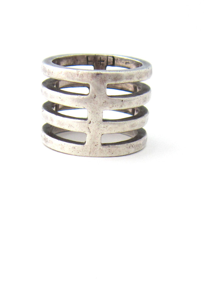 Buch + Deichmann, Denmark sterling silver ladder ring