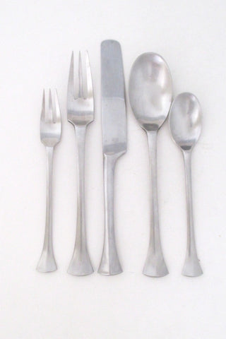 Dansk Thistle flatware by Jens Quistgaard made in France 5 five piece place settings 6 available