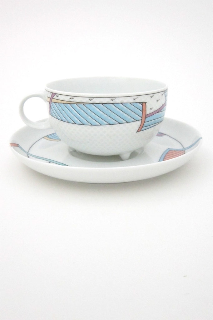 Tapio Wirkkala and Dorothy Hafner for Rosenthal vintage Century New Wave cup and saucer