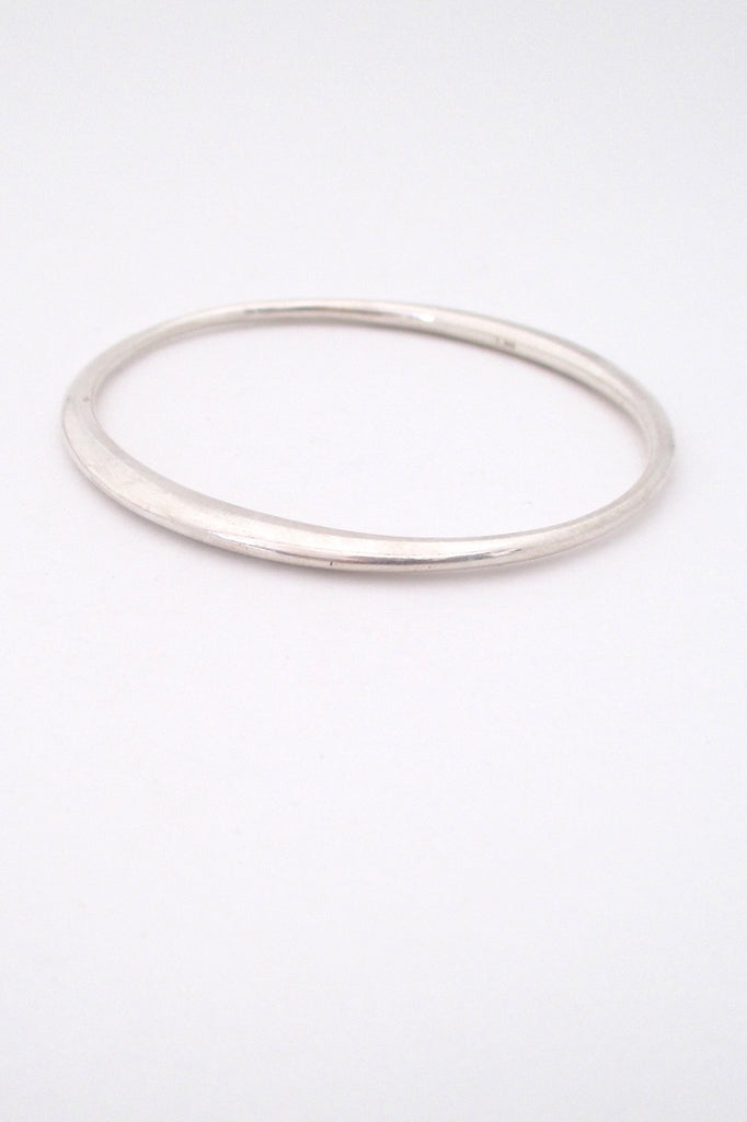 silver large bracelet bangle begay sterling stamped product george bangles heavy