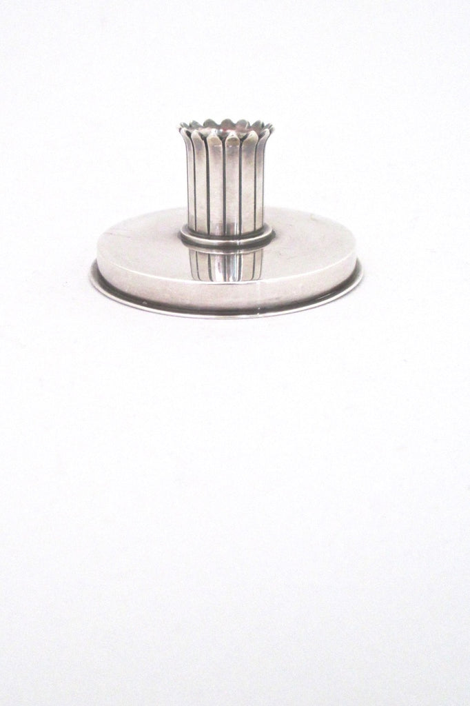 Georg Jensen Denmark vintage silver candle holder 895 by Jorgen Jensen